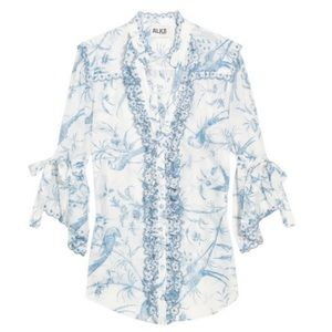 ALICE by Temperley Seraphine printed Blouse